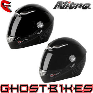View Item Nitro Aikido Motorcycle Crash Helmet