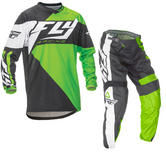 Fly Racing 2016 F-16 Youth Green Black Motocross Kit