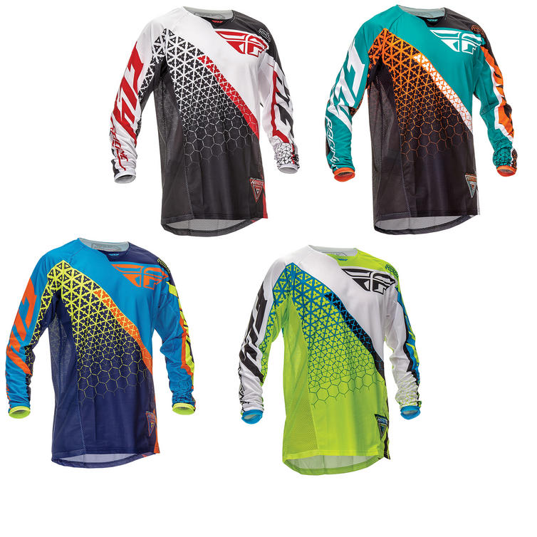 Fly Racing 2016 Kinetic Trifecta Motocross Jersey