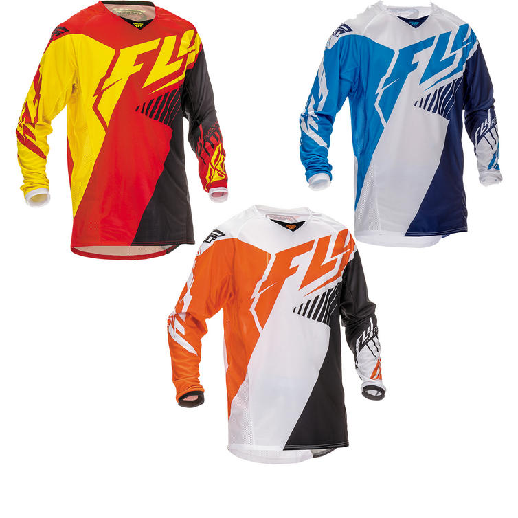 Fly Racing 2016 Youth Kinetic Vector Motocross Jersey