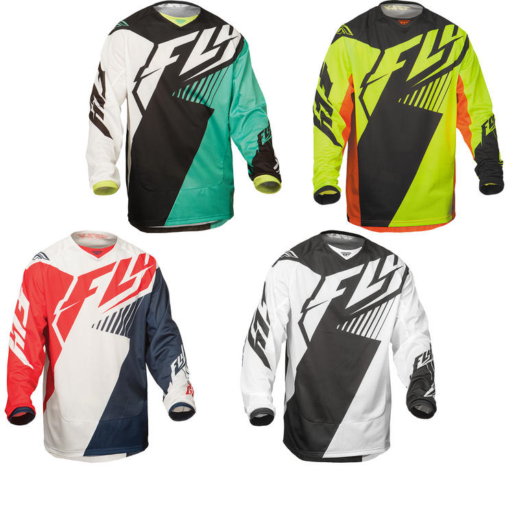 Fly Racing 2015 Kinetic Mesh Motocross Jersey