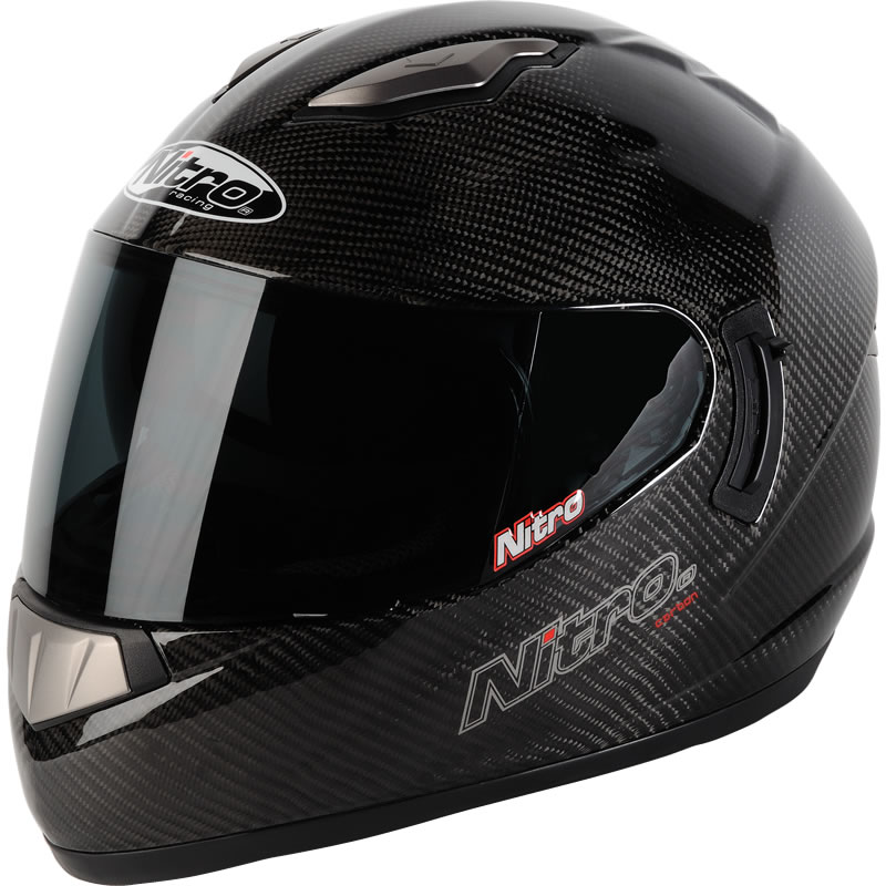 Nitro Nsfc Carbon Fibre Ff Lightweight Acu Gold Racing Motorcycle
