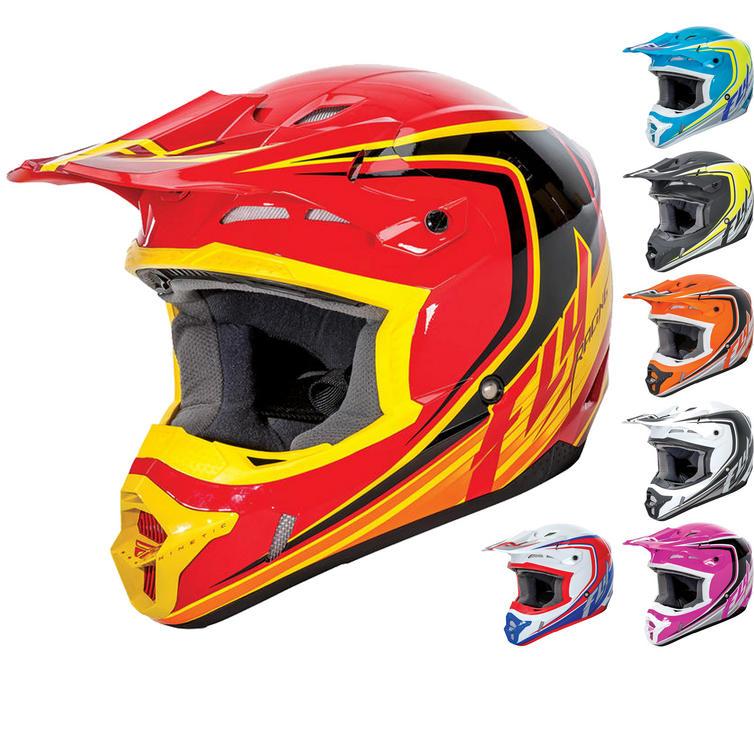 Fly Racing 2016 Kinetic Fullspeed Youth Motocross Helmet