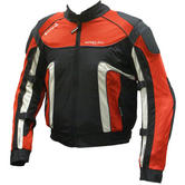 Buffalo Coolflow Motorcycle Jacket (Red and Blue)