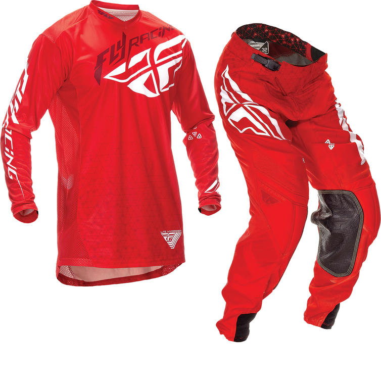 Fly Racing 2016 Lite Hydrogen Red Motorcross Kit