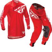 Fly Racing 2016 Lite Hydrogen Red Motorcross Kit