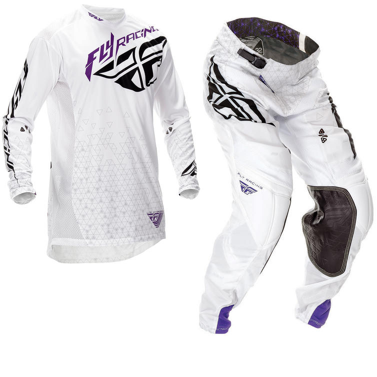 Fly Racing 2016 Lite Hydrogen White Motorcross Kit