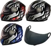 Viper RS-V9 Dimension Motorcycle Helmet & Visor