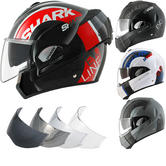 Shark Evoline S3 Drop Flip Front Motorcycle Helmet & Visor