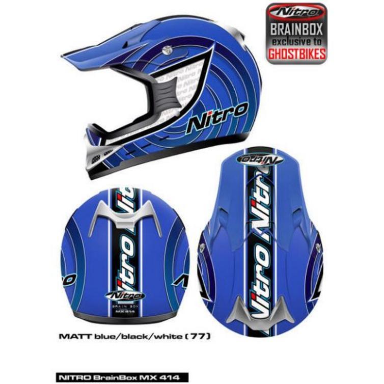 Nitro racing mx414 motocross helmet motocross helmets ghostbikes