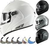 Shark OpenLine Pinlock Prime Flip Front Motorcycle Helmet & Visor