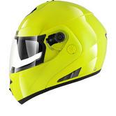 Shark OpenLine High Visibility Flip Front Motorcycle Helmet & Visor