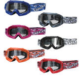 Wulf Cub Abstract Junior Motocross Goggles