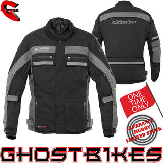View Item Alpinestars Long Range 2 DryStar Motorcycle Jacket
