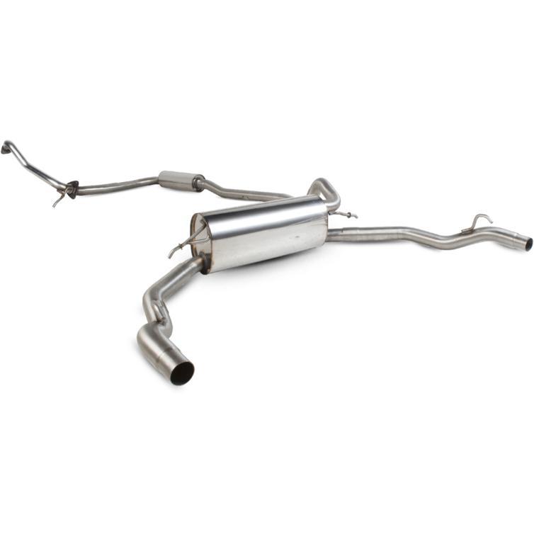 Scorpion Exhaust Cat-Back (Res) - Honda Civic Type S 1.8 Petrol 07-12