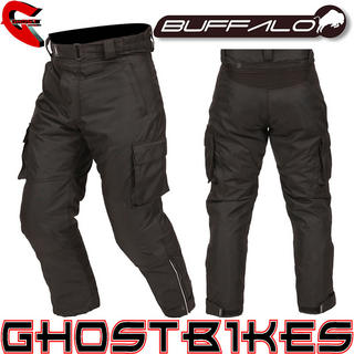 View Item Buffalo Pacific Short Leg Motorcycle Trousers