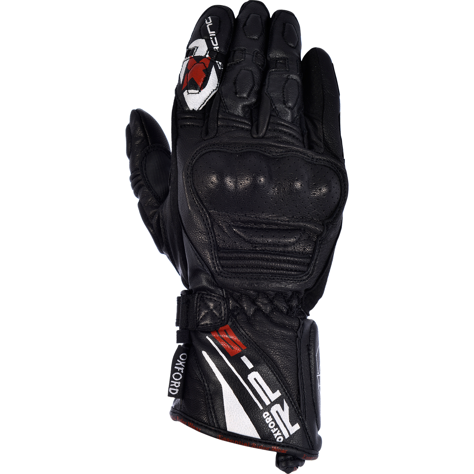 Motorcycle gloves for summer - Oxford Rp 5 Leather Motorcycle Gloves Summer Race