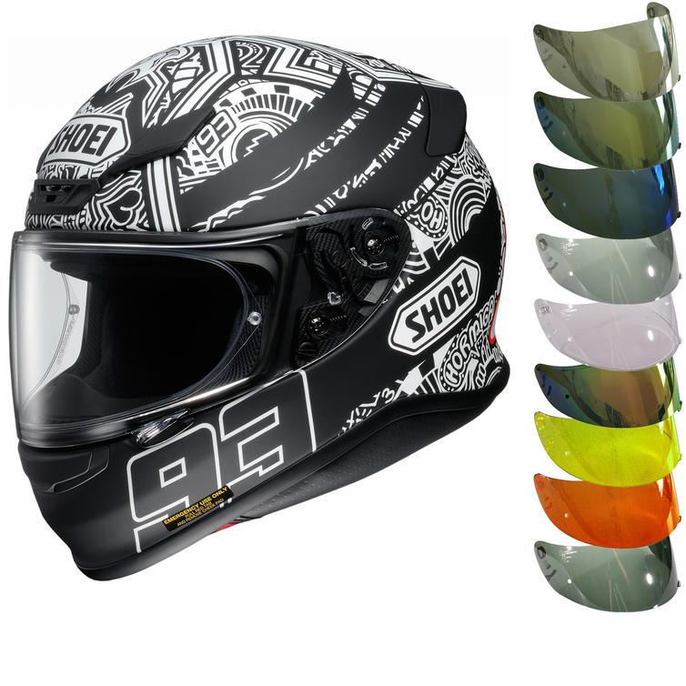 Shoei NXR Marquez Digi Ant Motorcycle Helmet & Visor