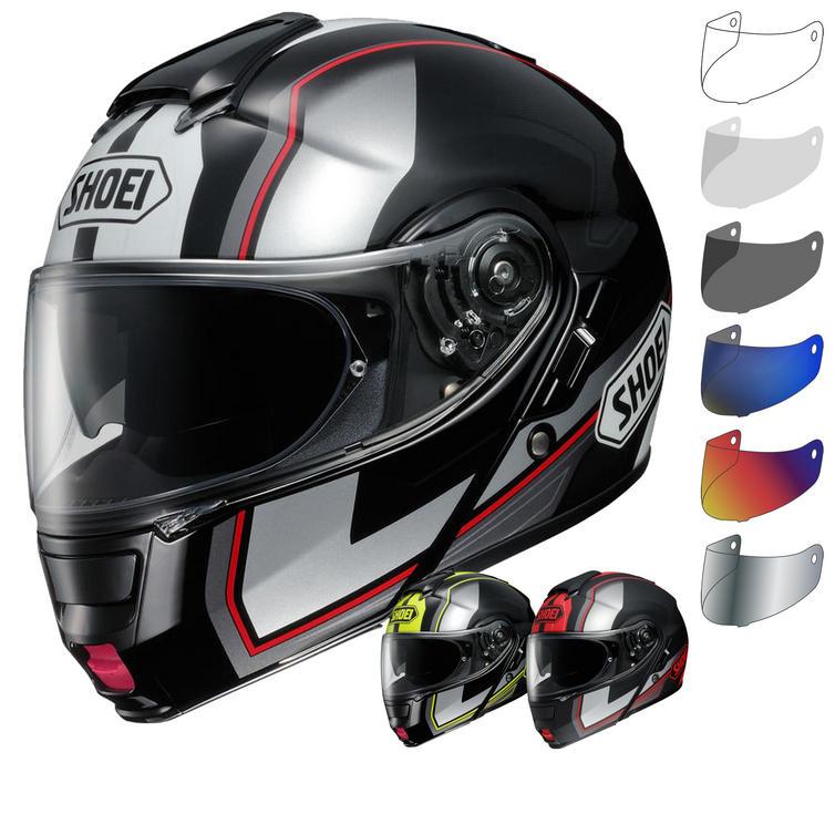 Shoei Neotec Imminent Flip Front Motorcycle Helmet & Visor