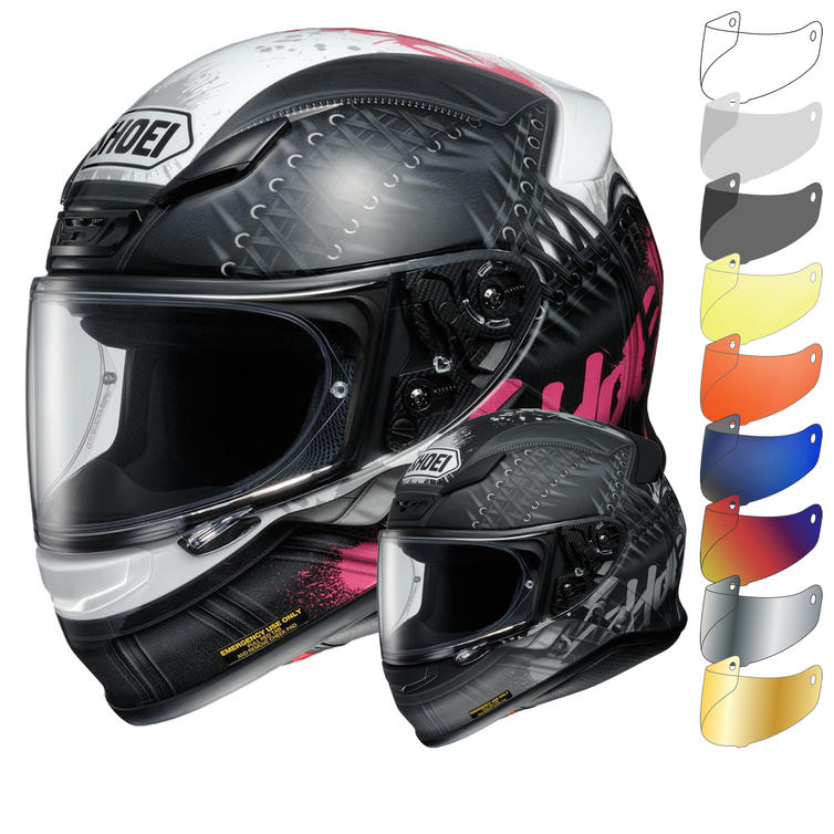 Shoei NXR Seduction Motorcycle Helmet & Visor