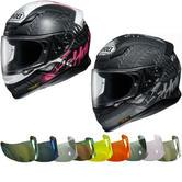 Shoei NXR Seduction Motorcycle Helmet & Visor