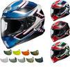 Shoei NXR Valkyrie Motorcycle Helmet & Visor Thumbnail 1