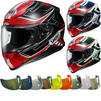 Shoei NXR Valkyrie Motorcycle Helmet & Visor Thumbnail 2