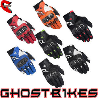 View Item Alpinestars SMX-2 Air Carbon Motorcycle Gloves