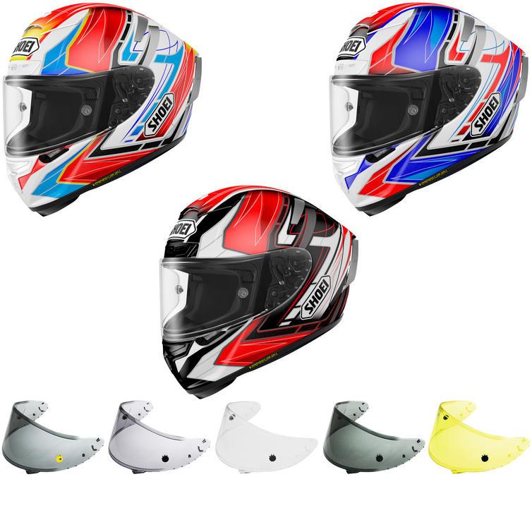 Shoei X-Spirit 3 Assail Motorcycle Helmet & Visor