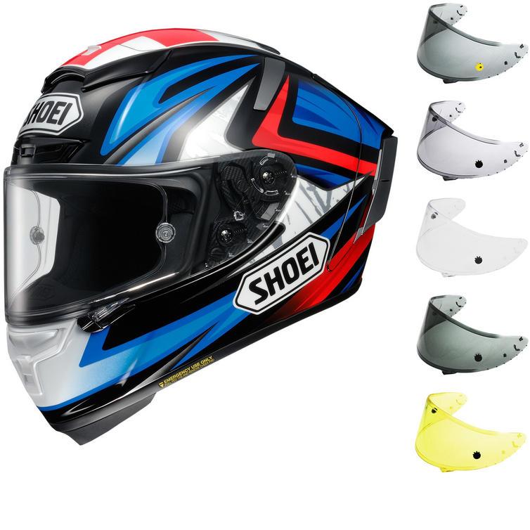 Shoei X-Spirit 3 Bradley Motorcycle Helmet & FREE Visor