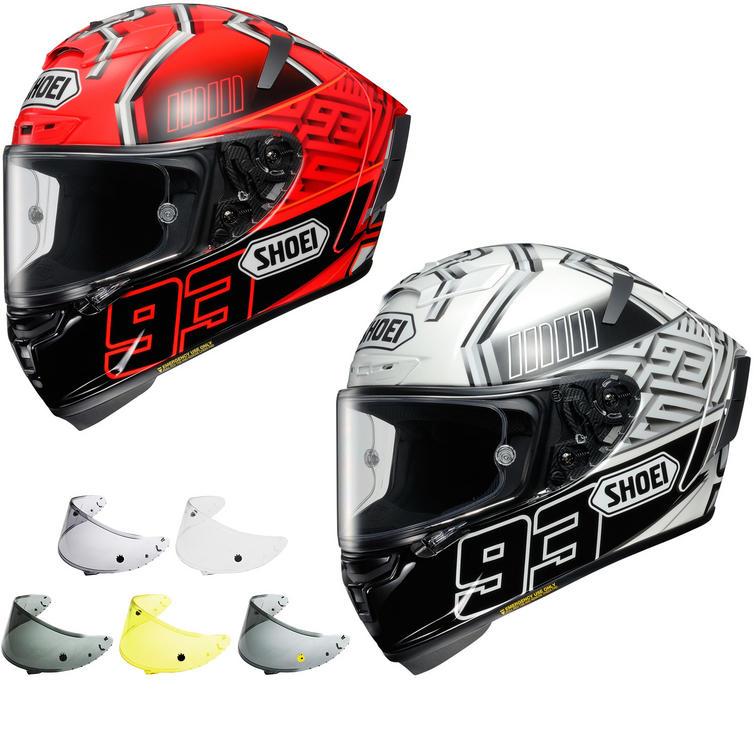 Shoei X-Spirit 3 Marquez Motorcycle Helmet & Visor