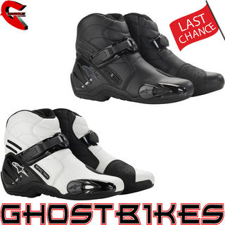 View Item Alpinestars S-MX 2 Short Motorcycle Boots