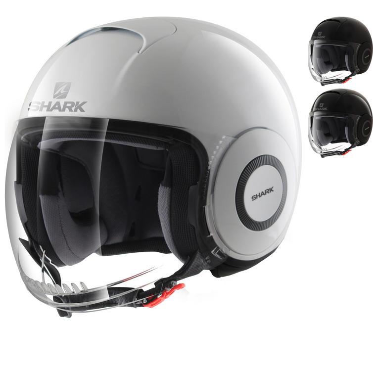 Shark Micro Blank Open Face Motorcycle Helmet