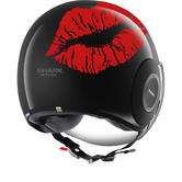 Shark Micro Kiss Open Face Motorcycle Helmet