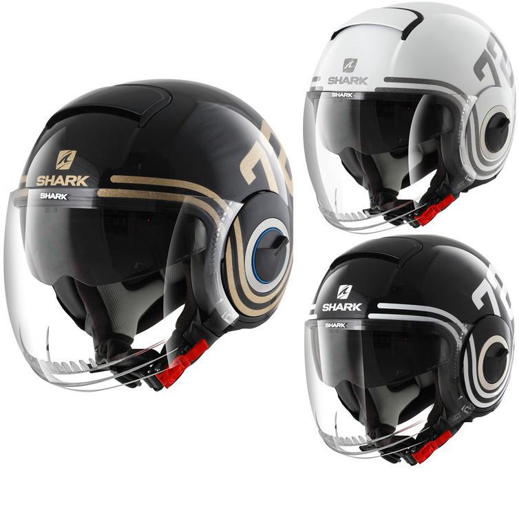 Shark Nano 72 Open Face Motorcycle Helmet