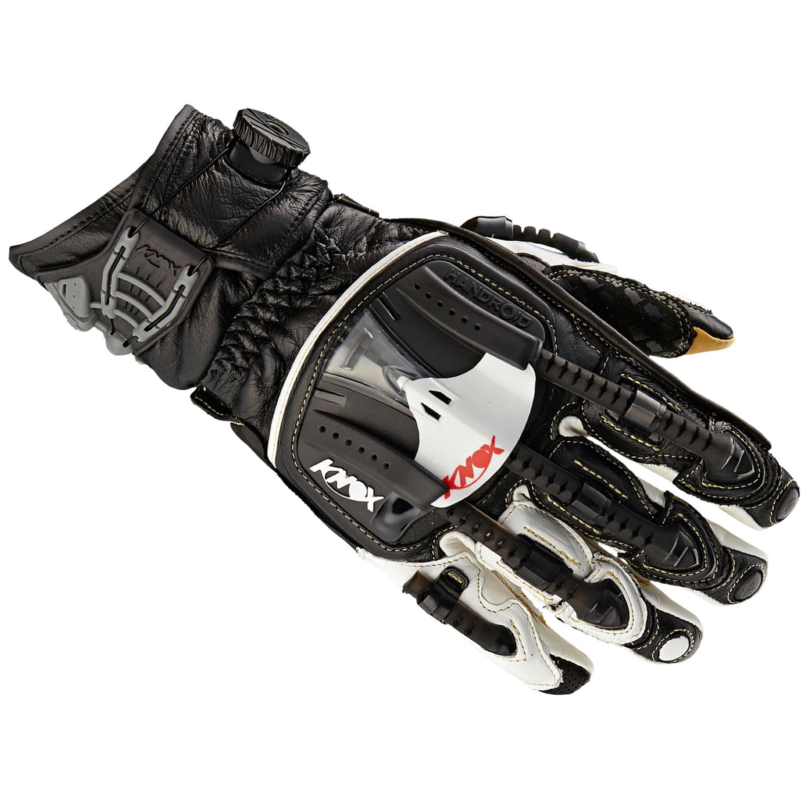 Knox Handroid Pod Short Leather Sports Motorbike