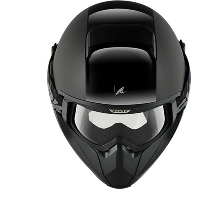 Shark Vancore Dual Black Motorcycle Helmet