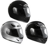 View Item HJC CS-14 Plain Motorcycle Helmet