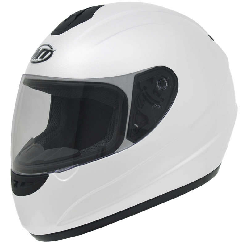 MT THUNDER SOLID POLYCARBONATE MOTORCYCLE MOTORBIKE FULL FACE PLAIN
