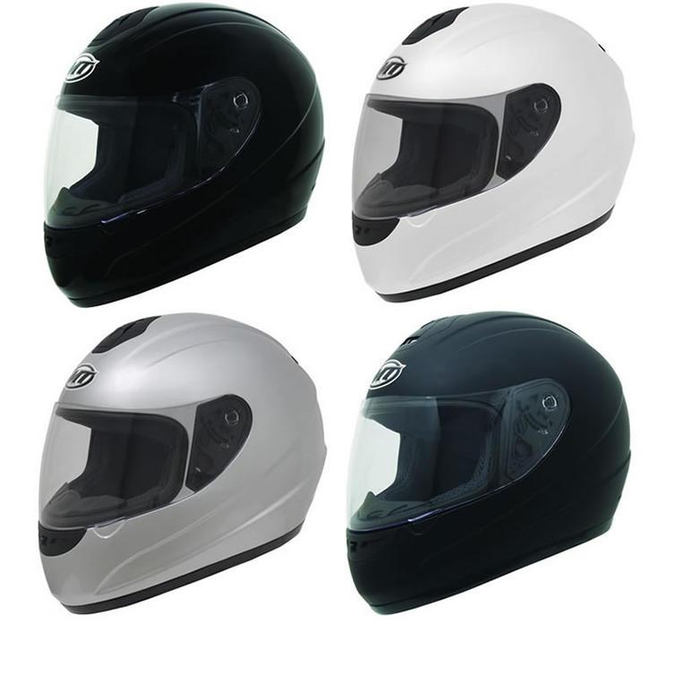 MT Thunder Solid Motorcycle Helmet