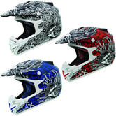 MT MX-1 Crossbones Motocross Helmet