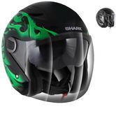Shark RSJ Hotspur Open Face Motorcycle Helmet