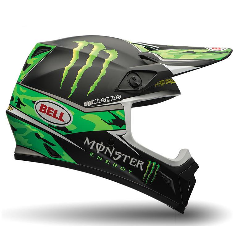 Bell MX-9 Pro Circuit Motocross Helmet