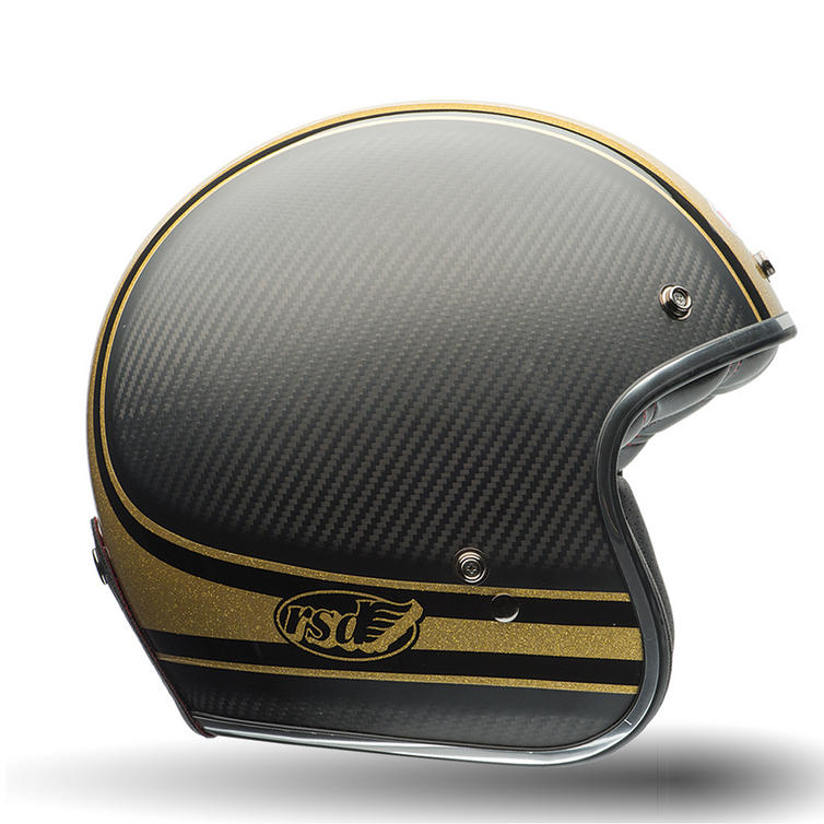 Bell Custom 500 Carbon RSD Bomb Motorcycle Helmet