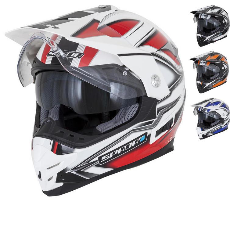 Spada Intrepid Mirage Dual Sport Helmet