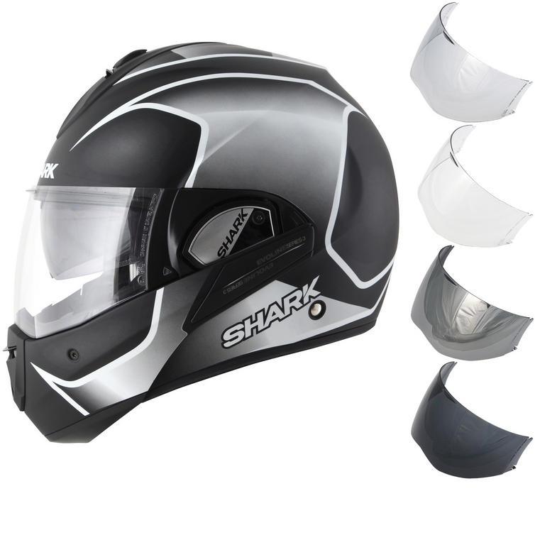 Shark Evoline S3 Starq Flip Front Motorcycle Helmet & Visor