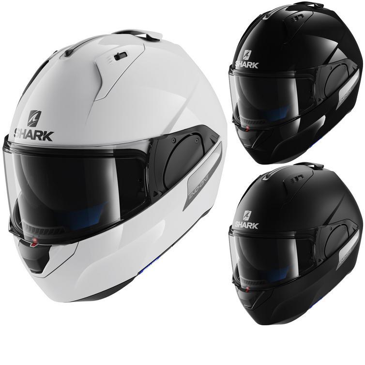 Shark Evo-One Blank Flip Front Motorcycle Helmet