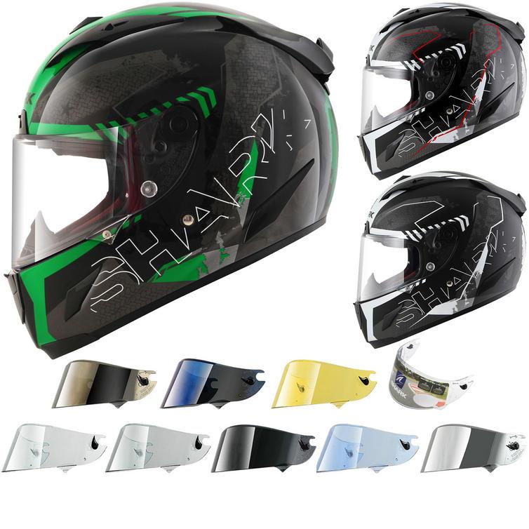 Shark Race-R Pro Cintas Motorcycle Helmet & Visor