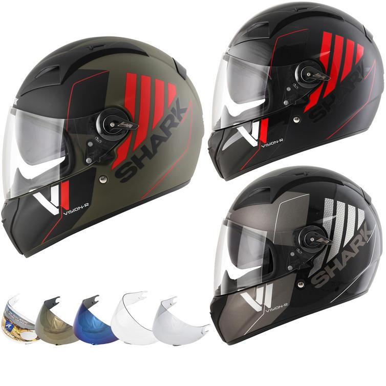Shark Vision-R Series 2 Cartney Motorcycle Helmet & Visor