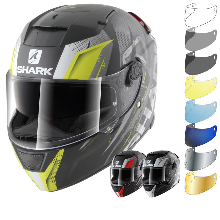 Shark Speed-R Tizzy Motorcycle Helmet & Visor